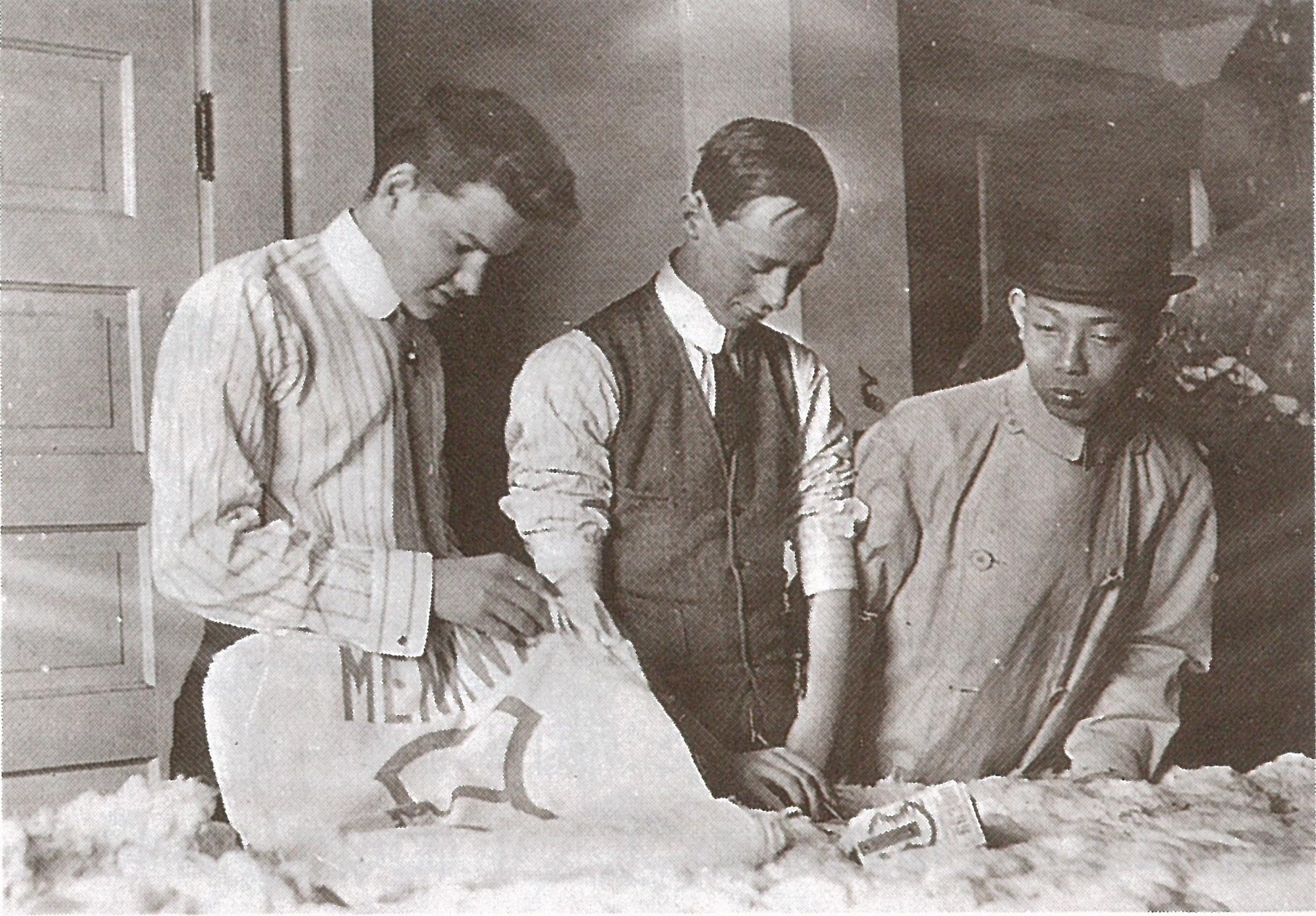 綿花調達の開始~インド・米国・中国・エジプトへ | 双日歴史館