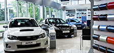 Subaru Vehicles Imported and Sold in Russia